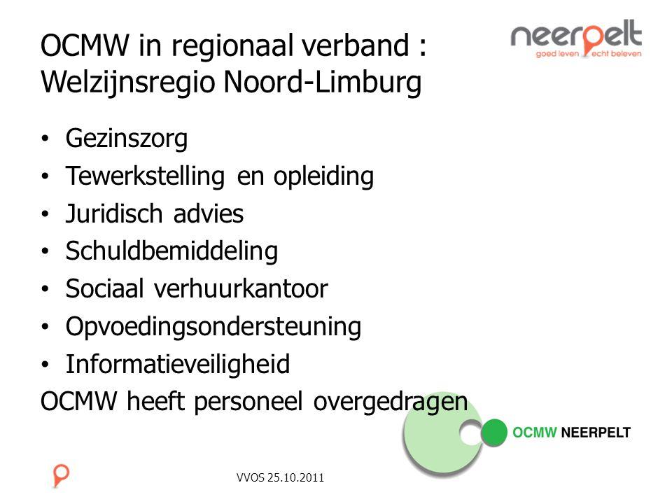 OCMW in regionaal verband : Welzijnsregio Noord-Limburg