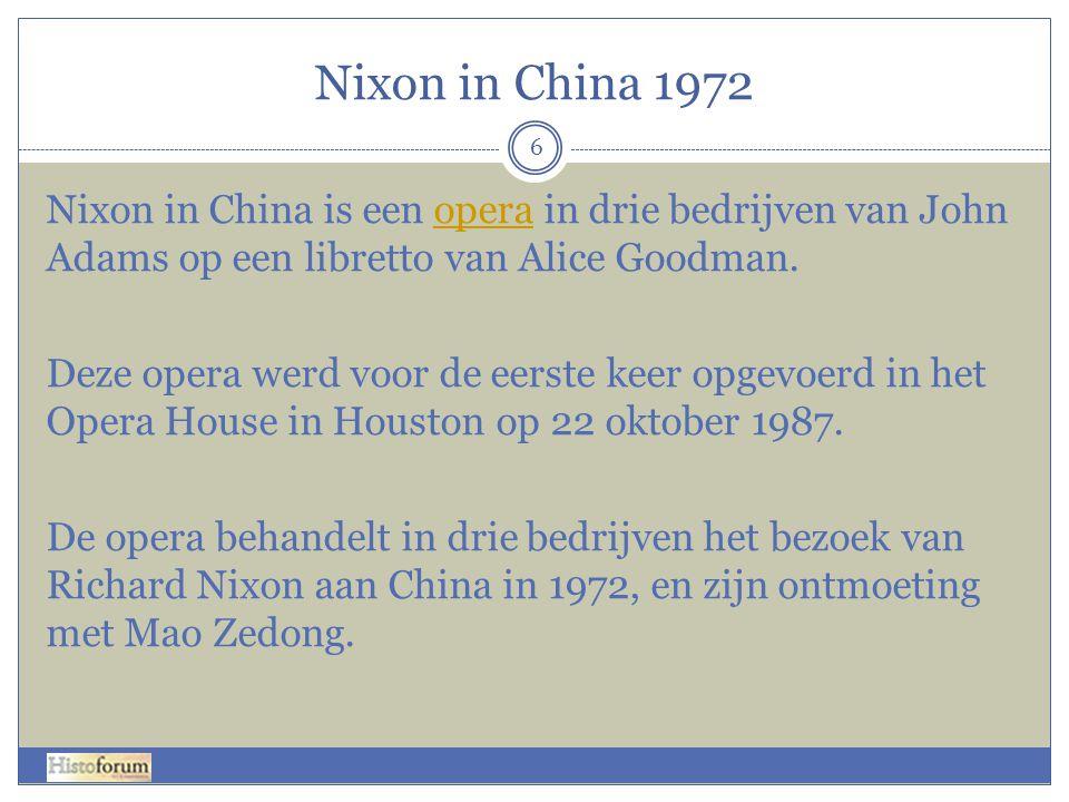 Nixon in China 1972