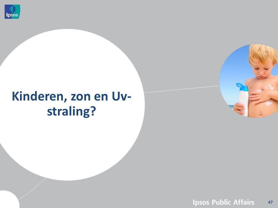 Kinderen, zon en Uv-straling