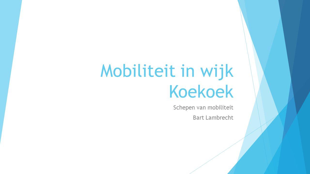 Mobiliteit in wijk Koekoek