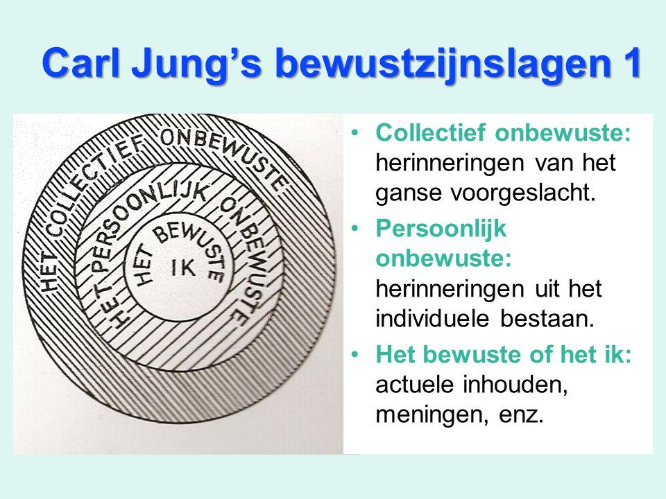 Carl Jung's bewustzijnslagen 1