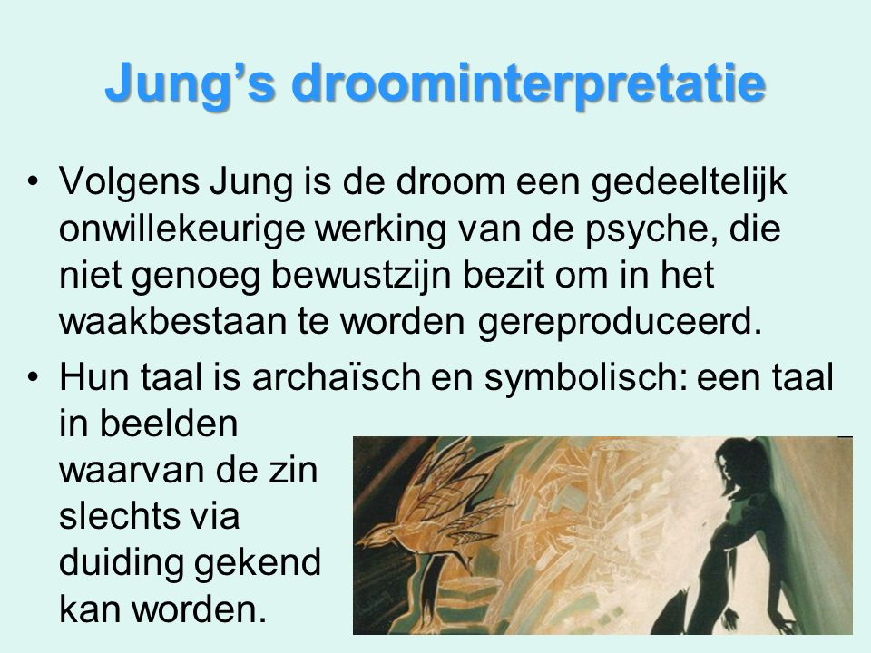 Jung's droominterpretatie
