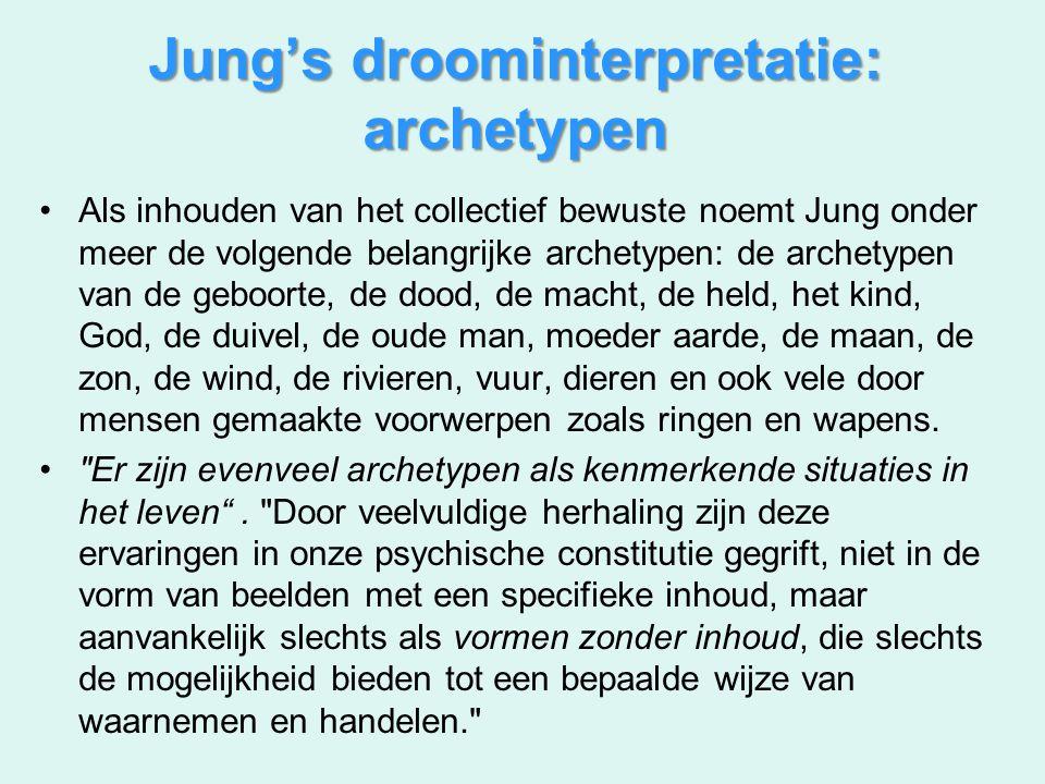 Jung's droominterpretatie: archetypen