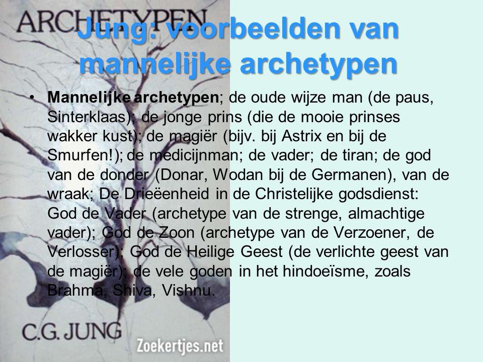 Jung: voorbeelden van mannelijke archetypen