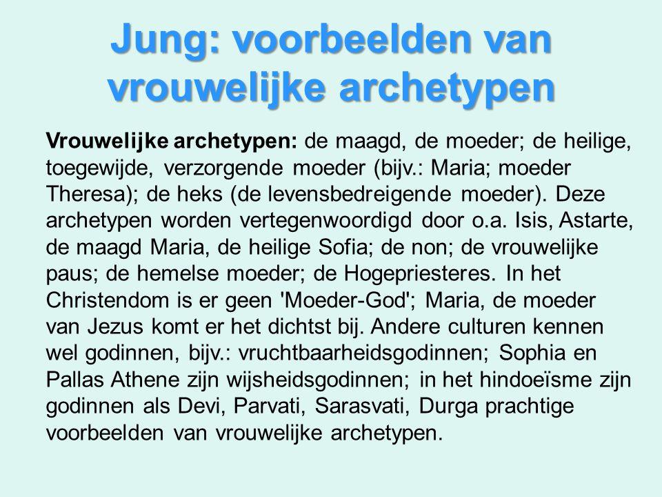 Jung: voorbeelden van vrouwelijke archetypen