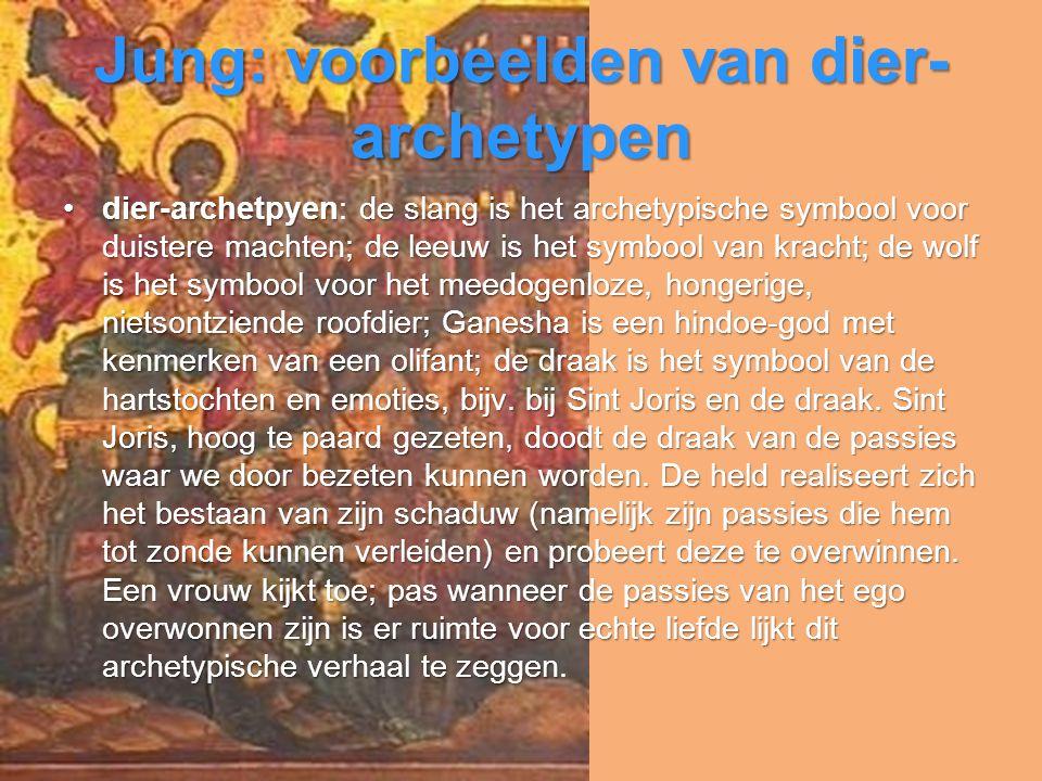 Jung: voorbeelden van dier-archetypen