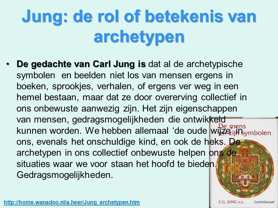 Jung: de rol of betekenis van archetypen