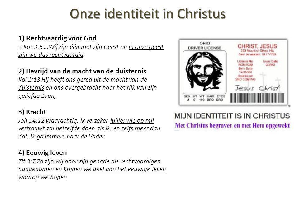 Onze identiteit in Christus