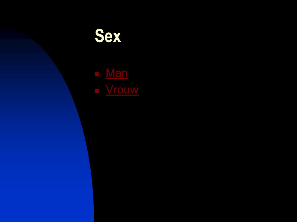 Sex Man Vrouw