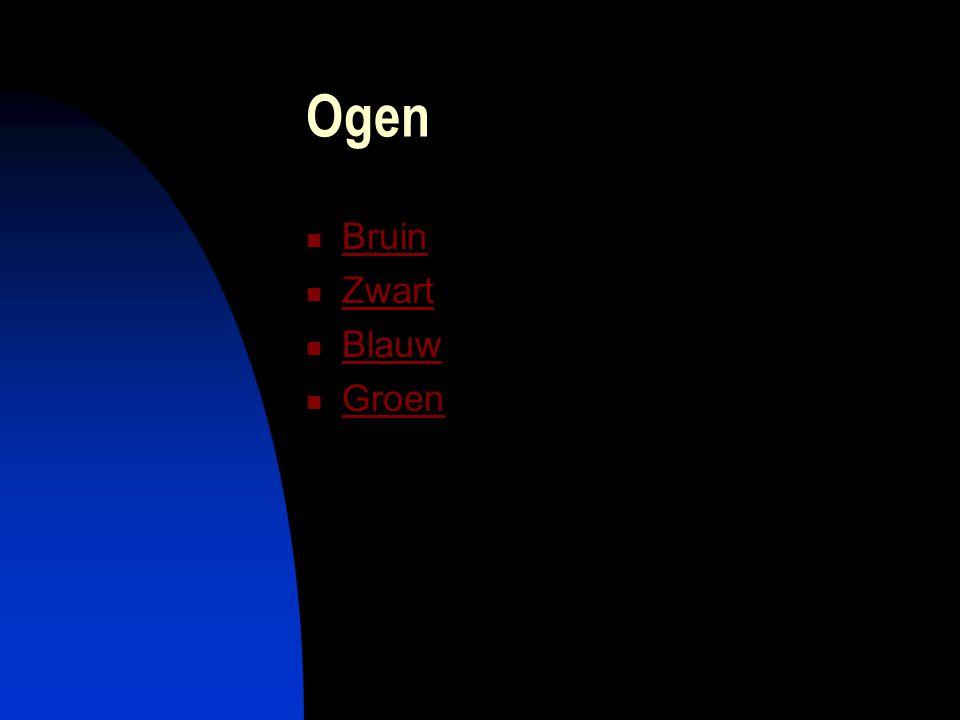 Ogen Bruin Zwart Blauw Groen
