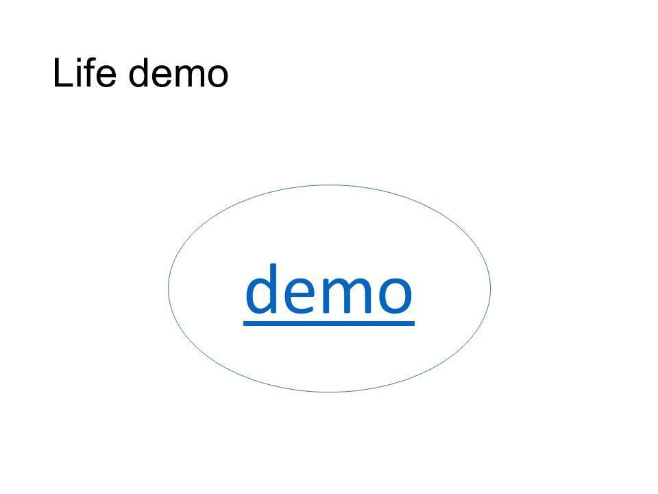 Life demo demo