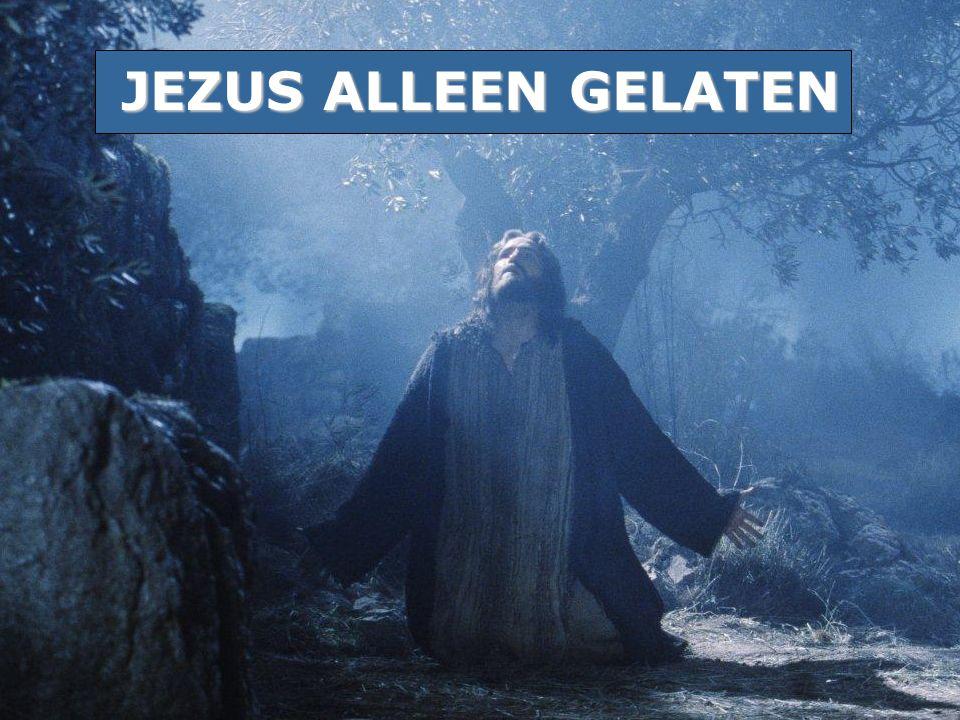 JEZUS ALLEEN GELATEN
