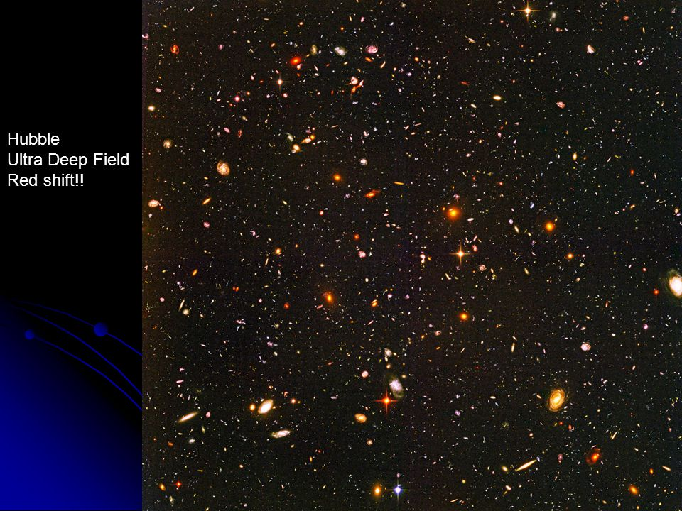 Hubble Ultra Deep Field Red shift!!
