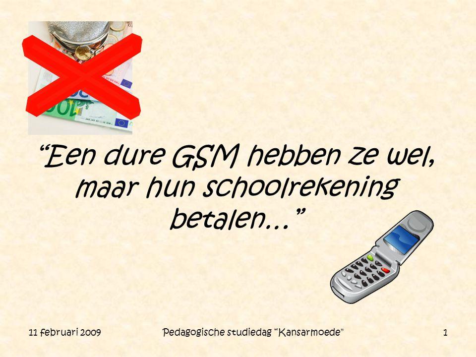 Een dure GSM hebben ze wel, maar hun schoolrekening betalen…