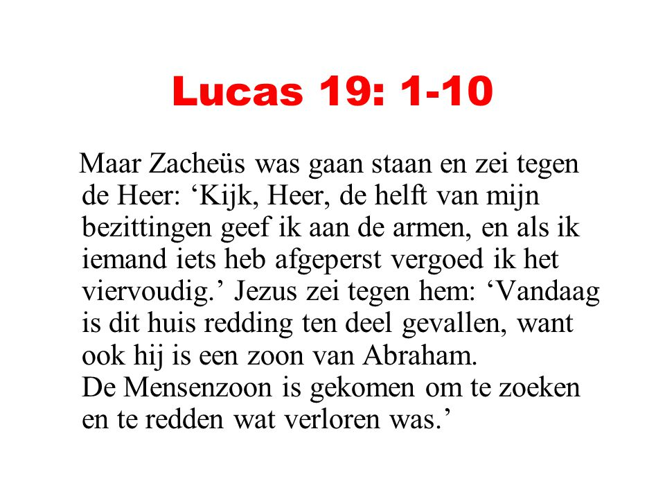 Lucas 19: 1-10