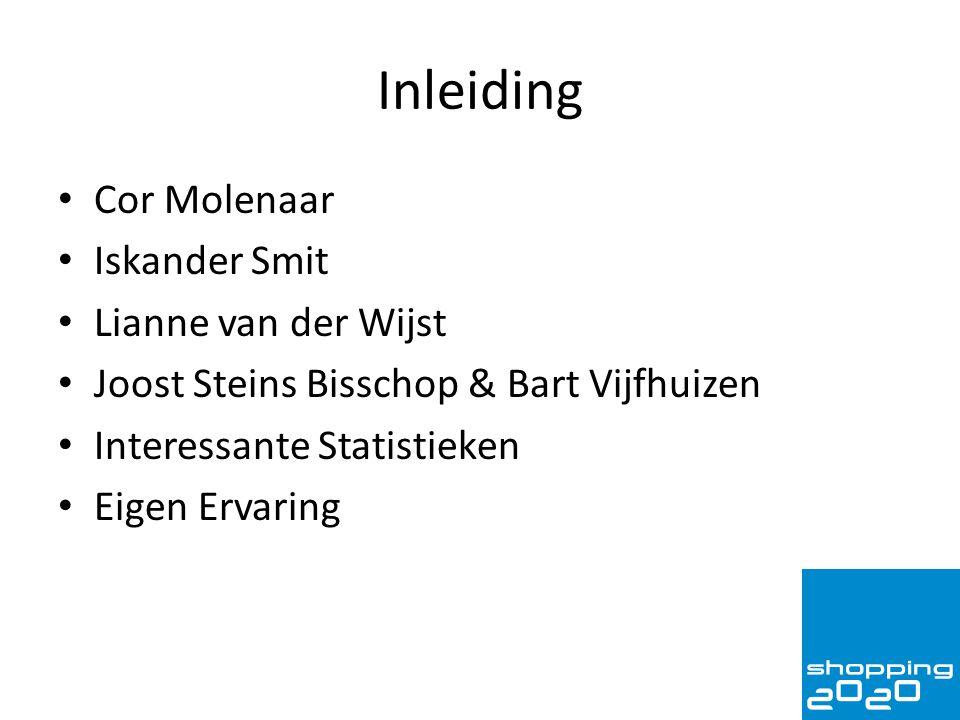 Inleiding Cor Molenaar Iskander Smit Lianne van der Wijst