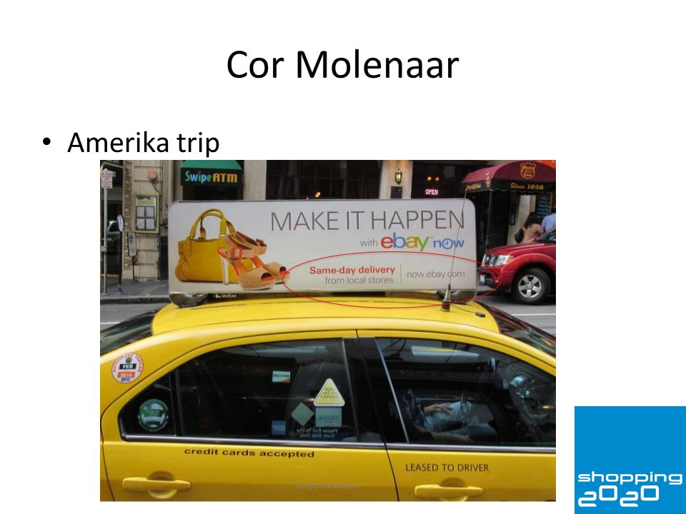 Cor Molenaar Amerika trip