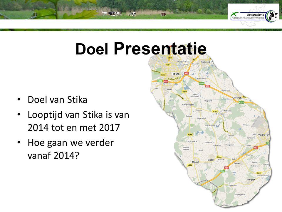 Doel Presentatie Doel van Stika