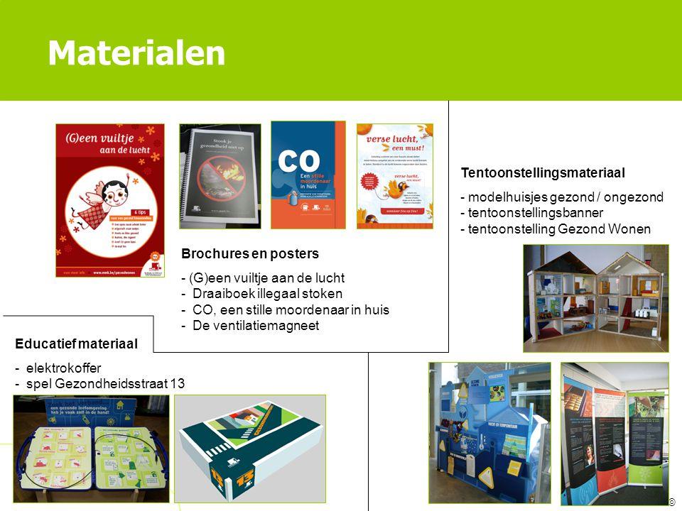 Materialen Tentoonstellingsmateriaal