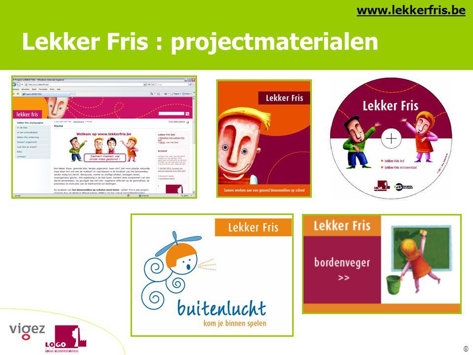 Lekker Fris : projectmaterialen