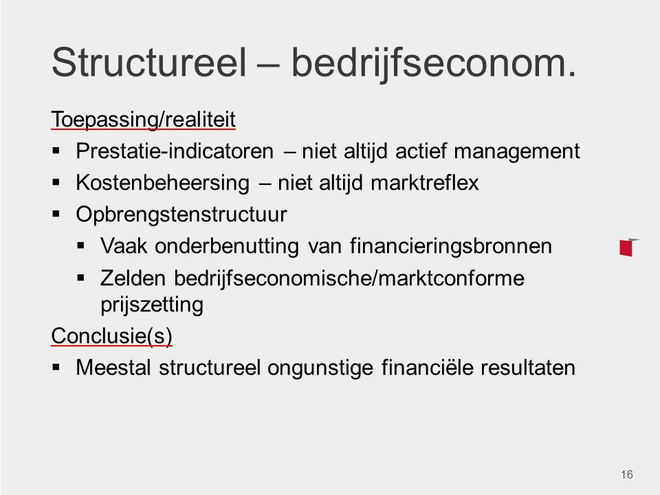 Structureel – bedrijfseconom.