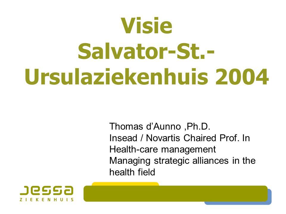 Visie Salvator-St.-Ursulaziekenhuis 2004