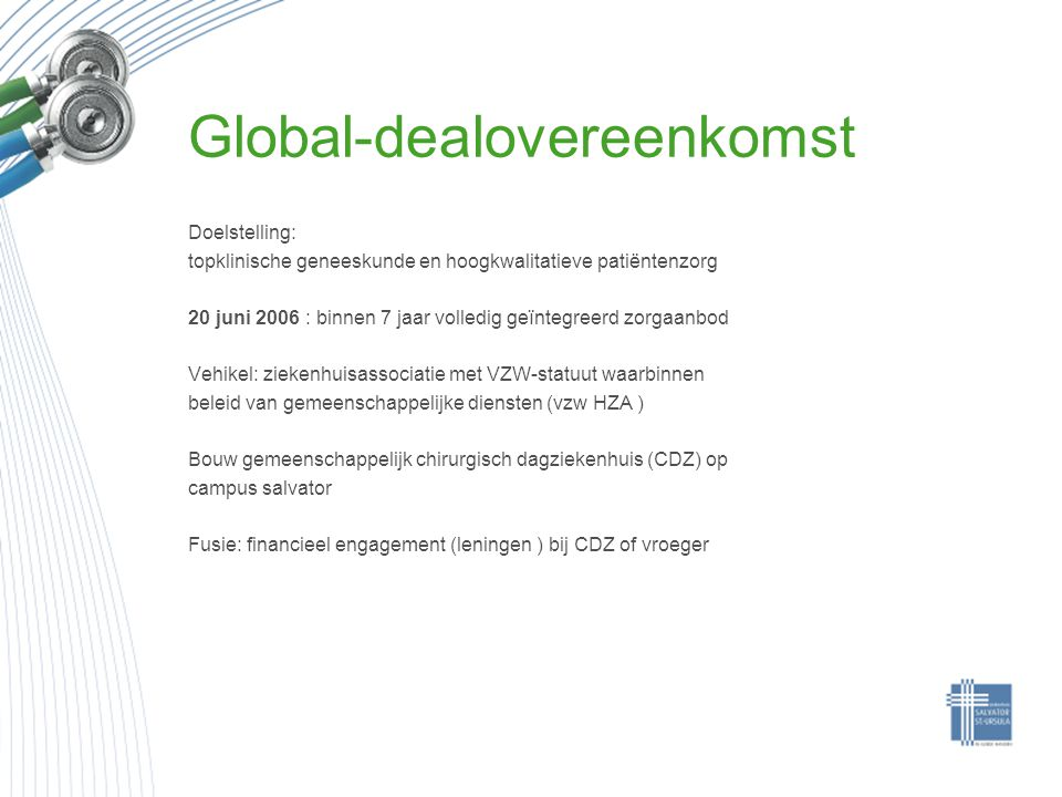 Global-dealovereenkomst