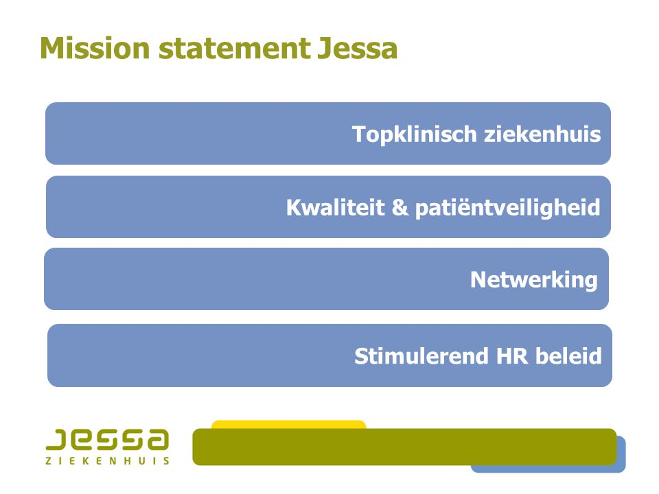 Mission statement Jessa