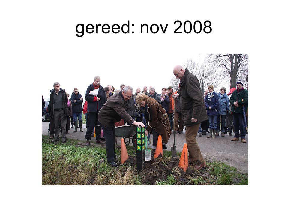 gereed: nov 2008