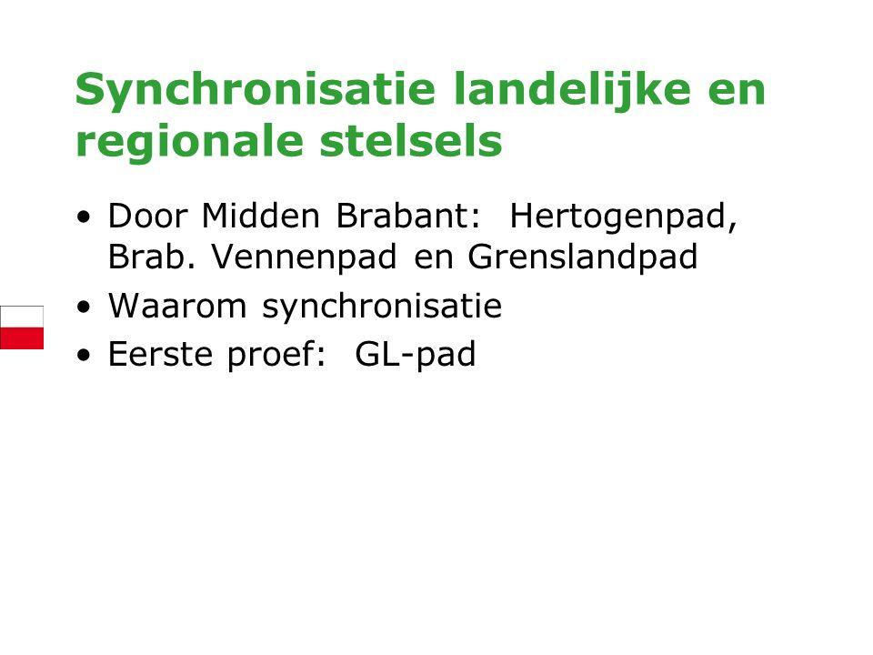 Synchronisatie landelijke en regionale stelsels