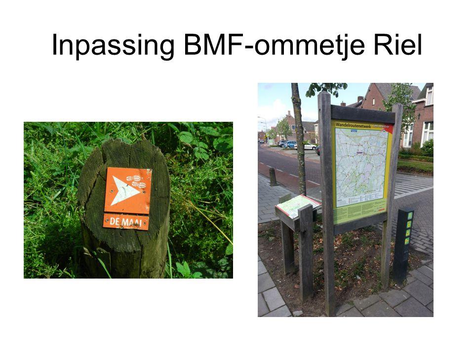 Inpassing BMF-ommetje Riel