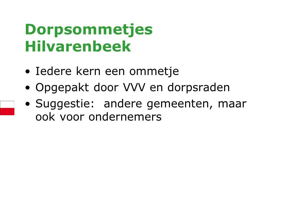 Dorpsommetjes Hilvarenbeek