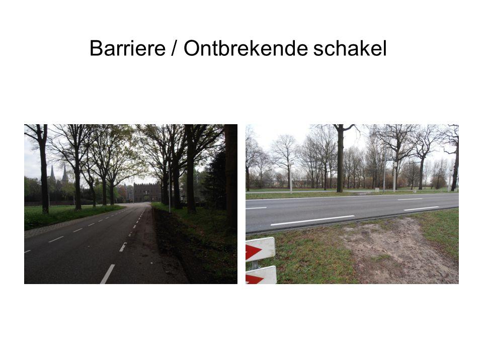Barriere / Ontbrekende schakel
