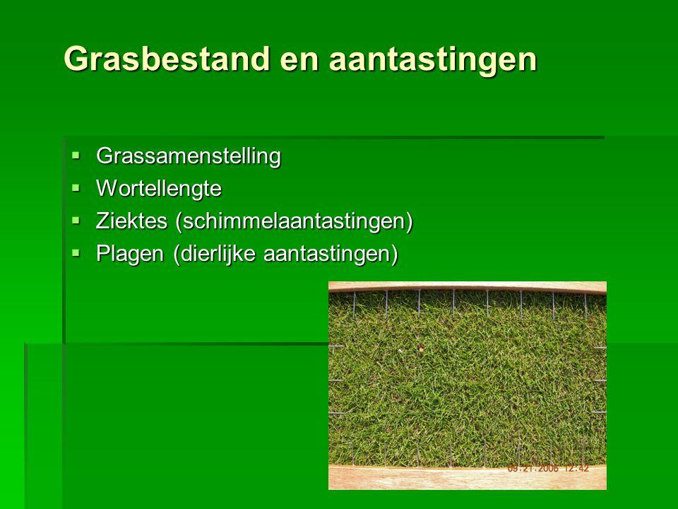 Grasbestand en aantastingen