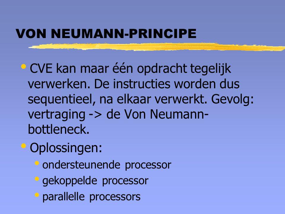 VON NEUMANN-PRINCIPE