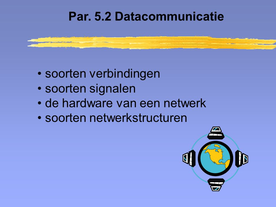 de hardware van een netwerk soorten netwerkstructuren