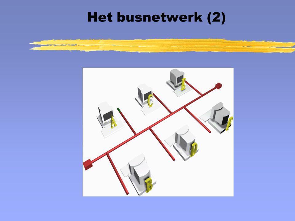 Het busnetwerk (2) Het busnetwerk Animatie: Het busnetwerk