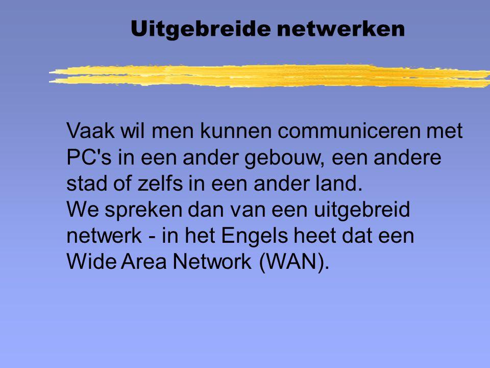 Uitgebreide netwerken