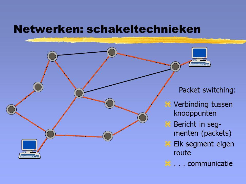 Netwerken: schakeltechnieken
