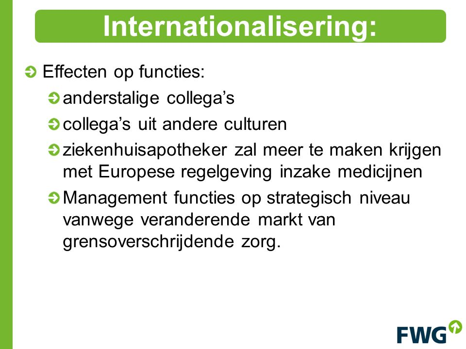 Internationalisering: