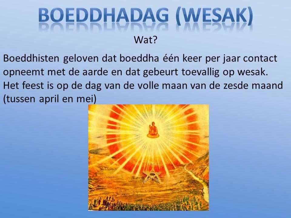 Boeddhadag (Wesak) Wat