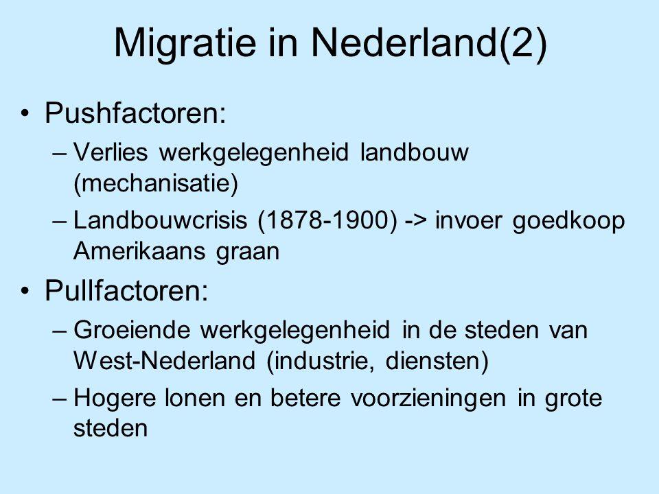 Migratie in Nederland(2)