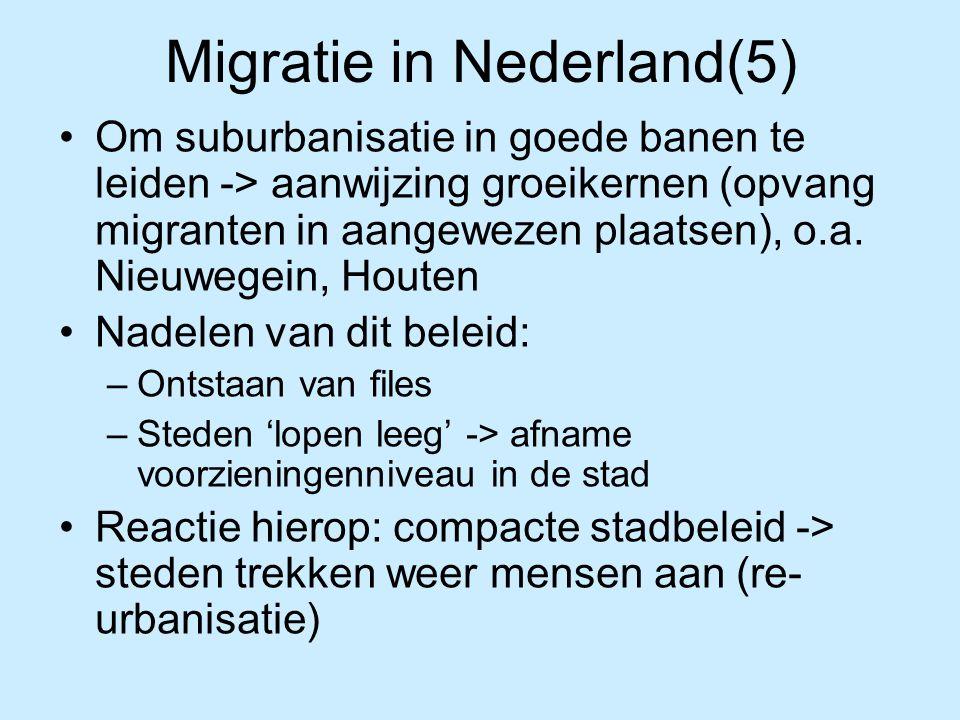 Migratie in Nederland(5)