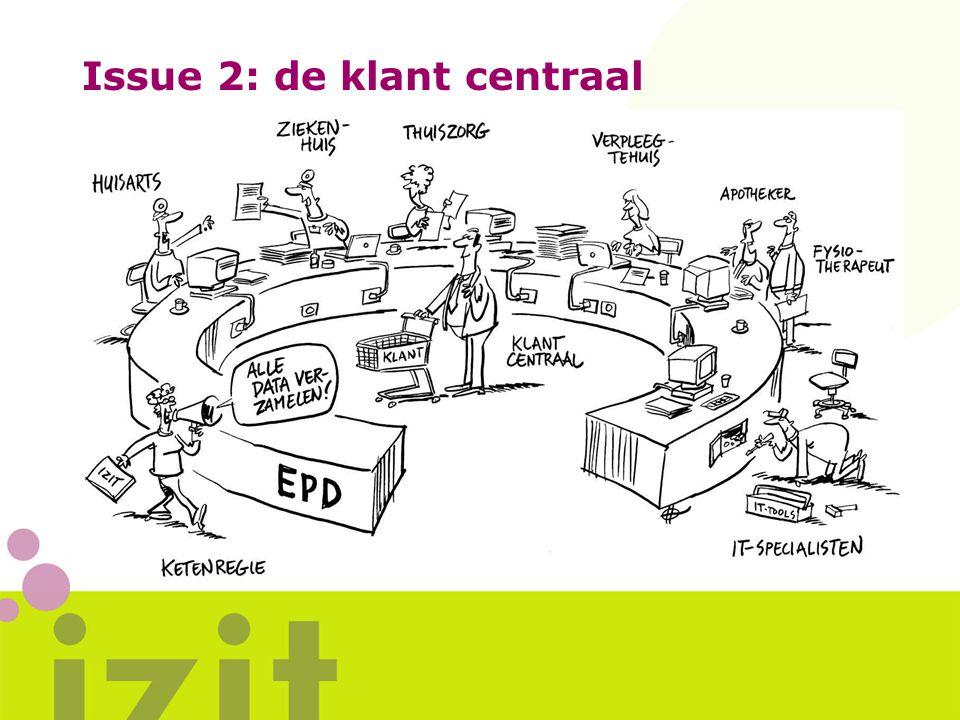 Issue 2: de klant centraal