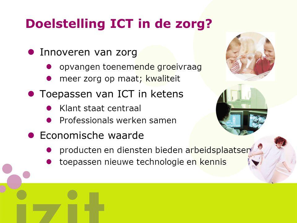 Doelstelling ICT in de zorg