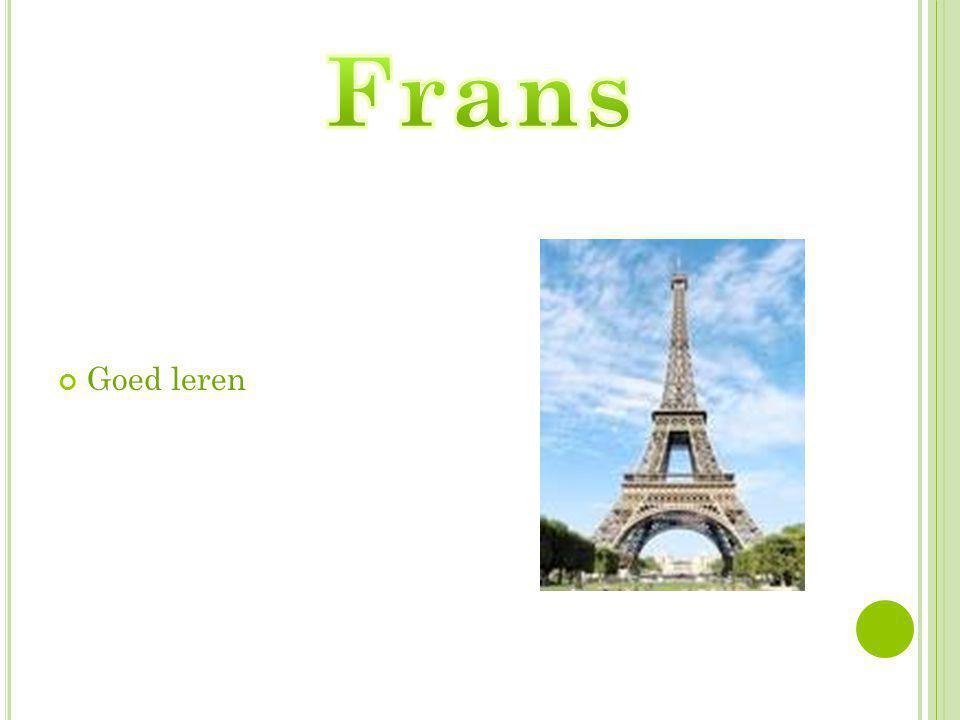 Frans Goed leren