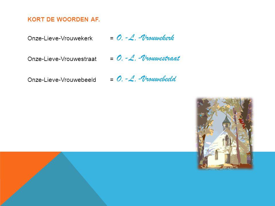 O,-L,-Vrouwekerk O,-L,-Vrouwestraat O,-L,-Vrouwebeeld
