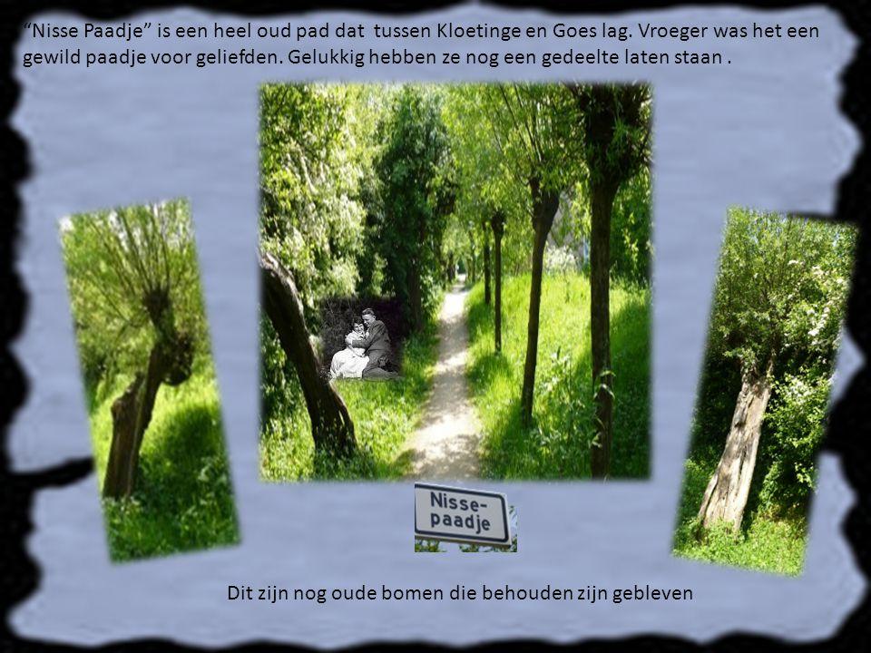 Nisse Paadje is een heel oud pad dat tussen Kloetinge en Goes lag