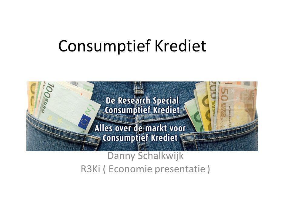 Danny Schalkwijk R3Ki ( Economie presentatie )