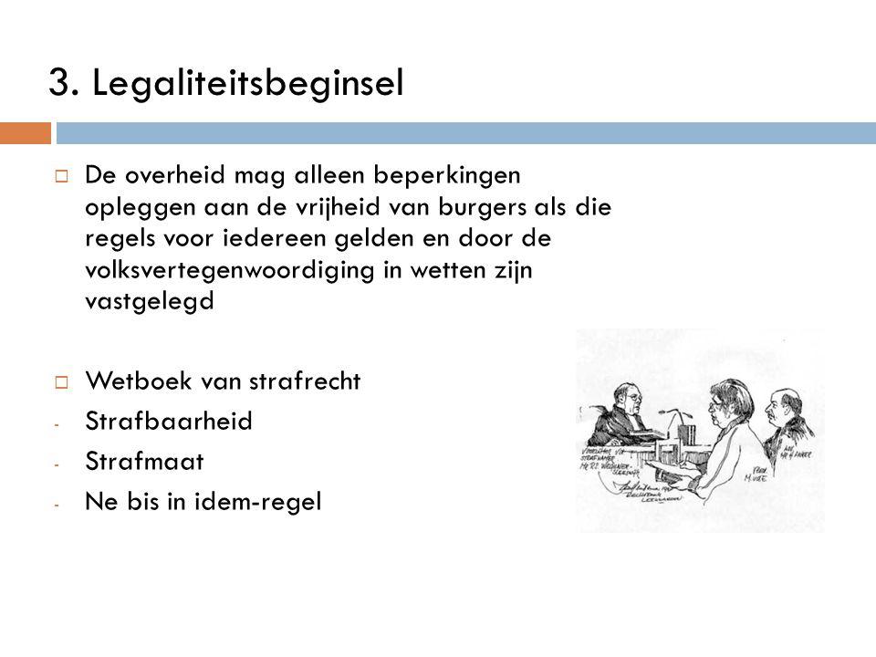 3. Legaliteitsbeginsel